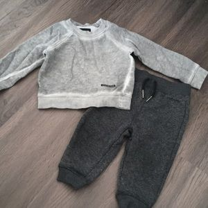 Grey Hudson sweatsuit set